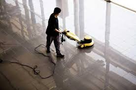 Waxing Floors